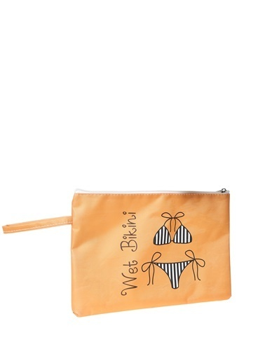 T-Box T-Box Kadın Turuncu Plaj Çantası Oranj